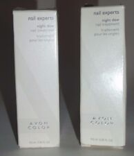 Avon Nail Experts Night Dew Nail Treatment Set of 2