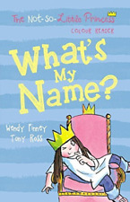 FINNEY,TONY ROS-WHAT`S MY NAME BOOK NEW
