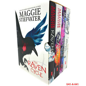 The Raven Cycle Series 4 Books Collection Box Set by Maggie Stiefvater