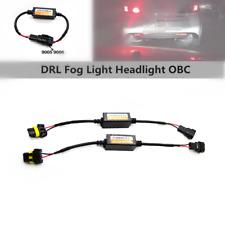 2x9005 LED DRL Fog Light Daytime Lamp Error Flicker Auto Car Decoder Device Tool