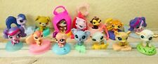 Littlest Pet Shop 14 LPS McDonald's Happy Meal Toys Dogs Cats Animal W Case Lot