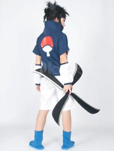 Anime Naruto online Uchiha Sasuke Genin Halloween one piece manga Cosplay set