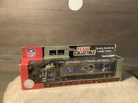 NFL Team Collectible Tractor-Trailer-Semi Truck, St. Louis Rams 1:80 Scale