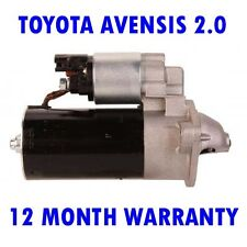 TOYOTA AVENSIS 2.0 1997 1998 1999 2000 2001 2002 - 2008 RMFD STARTER MOTOR