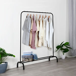 Heavy Duty Metal Clothes Rail Storage Garment Hanging Display Stand Fashion