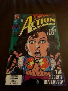 Action Comics #662 FN/VF 1st Time Superman Revealed Identity to Lois DC 1991