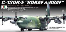 Academy 1/72 Plastic Model Kit C-130H/E ITALERI ROKAF & USAF #12511
