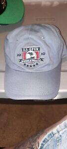 US Open 2010 Pebble Beach USGA Member Gray Hat Embroidered Cap Golf Adjustable