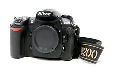 Nikon D200 10.2 MP DSLR Digital Camera Black Body Only