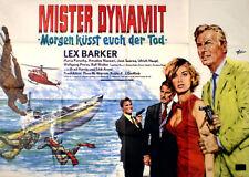 Lex Barker in MISTER DYNAMIT  EA A 0 von 1966