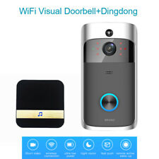 WiFi Intelligent Video Doorbell HD 720P Visual Camera 2-Way +Dingdong For IOS