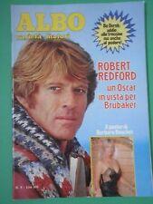 A ALBO Varietà-Motori Rivista Fumetti N 6  1981 Robert Redford Barbara Bouchet