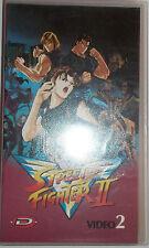 VHS - DYNAMIC VIDEO/ STREET FIGHTER II - VOLUME 2 - 2 EPISODI
