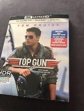 Top Gun 4K + Blu Ray + Digital New And Sealed
