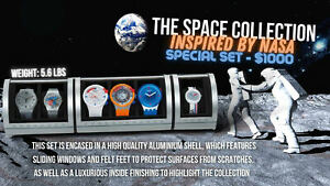 SWATCH SUPER EXCLUSIVE Space Collection Inspired by NASA!