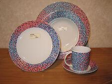 ALESSI *NEW* PROUST MOUCHETE Set 3 assiettes + 1 tasse Plates + cup