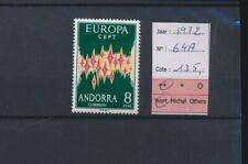LN83616 Andorra 1972 Europa Cept fine lot MNH cv 135 EUR