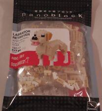 Kawada nanoblock Mini LABRADOR RETRIEVER  - japan building toy NEW NBC_261