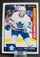 2016-17 O-Pee-Chee #694 Auston Matthews Rookie Card Toronto Maple Leafs 🏒 🔥
