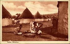 Afrika Africa 1914 Pulizia Mattutina Morgendliche Reinigung Einheimische Native