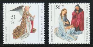 Germany 1993 Mi 2285-2286 MNH Sc B908-B909 Christmas **