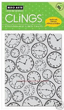 HERO ARTS CLINGS RUBBER Stamp TIME TO STAMP CG144 CLOCK STOP WATCH
