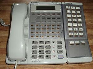 Panasonic DBS Module 34 Button DBS Business Phone W/ 24 Button Expansion Module