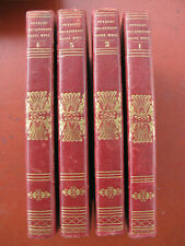 Voyages capitaine Basil Hall 4 vol. Espagne Inde Bombay Borneo 1834