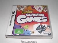 Junior Classic Games Nintendo DS 3DS *Complete*