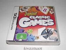 Junior Classic Games Nintendo DS 3DS *No Manual*
