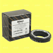 Genuine Nikon PK-12 Auto Extension Tube Ring PK12 for Close-up Photography