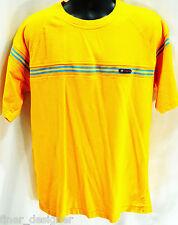 U.S. POLO USPA Mustard Aqua Short Sleeve S/S SHIRT T shirt crew neck SZ L XL