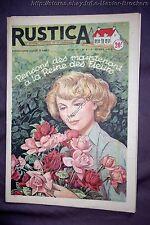RUSTICA 5 1953 REINE DES FLEURS COMMENT FAIRE ADOPTER LES AGNEAUX LE CHATAIGNIER