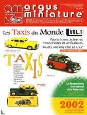 Argus de la Miniature, Les Taxis du monde Vol. 1 Taxi