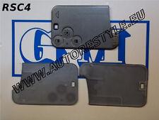 COVER GUSCIO CHIAVE TELECOMANDO SMART CARD RENAULT LAGUNA ESPACE 3 TASTI
