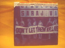 cardsleeve single CD PASSENGERS U2 Miss Sarajevo 2TR 1995 pop