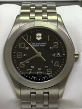 Victorinox Dive Master Titanium 24669 Slightly Used Orig Box and Papers