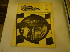 1975 ROLLING WHEELS MODIFIED Racing Program