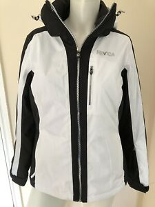 Nevica Women's Maribel Ski Jacket White Black Size 10