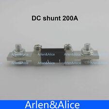200A 75mV DC current shunt resistor for amp panel meter