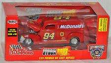 Racing Champions 1998 Stock Rods 1940 Ford Sedan Delivery NASCAR Bill Elliott