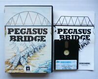 AMSTRAD CPC 464/664/6128 Disk/Disc PEGASUS BRIDGE - PSS Wargamers Series - 1987