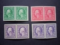 #481 #482 #483 #484 Imperforated Vertical Line Pairs MNH OG VF-XF Gems