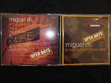 CD MIGUEL M & THE BRACHAY'S BLUES BAND / OPEN DAYS /