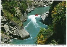 NEW Zealand-Queenstown-jetboot sul Shotover River-circa 1995