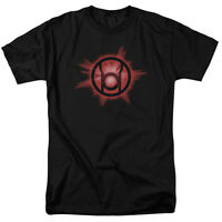 Green Lantern RED GLOW Licensed Adult T-Shirt All Sizes