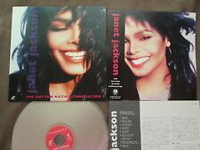 JANET JACKSON The Rhythm Nation Compilation JAPAN Laser Disc LD VALA-3526 POSTER