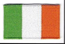 Embroidered IRELAND IRISH Flag Iron on Sew on Patch Badge HIGH QUALITY APPLIQUE