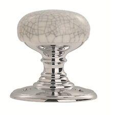 Carlisle Brass - DK34MCCP - Delamain Porcelain Knob - Dual Finish (Pair)