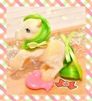 ❤️My Little Pony MLP G1 Vtg So Soft SS Rearing Magic Star Flocked & Bird Brush❤️